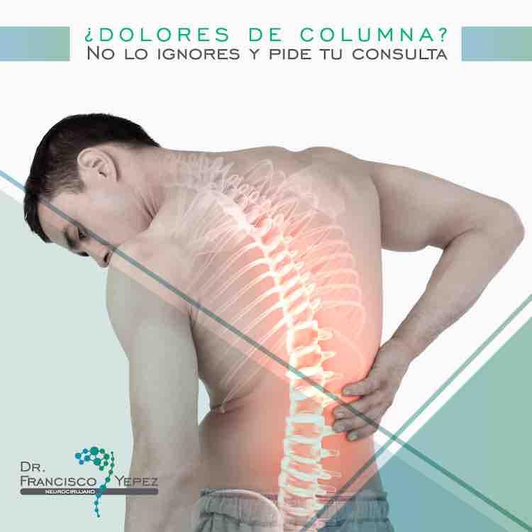 dolores de columna