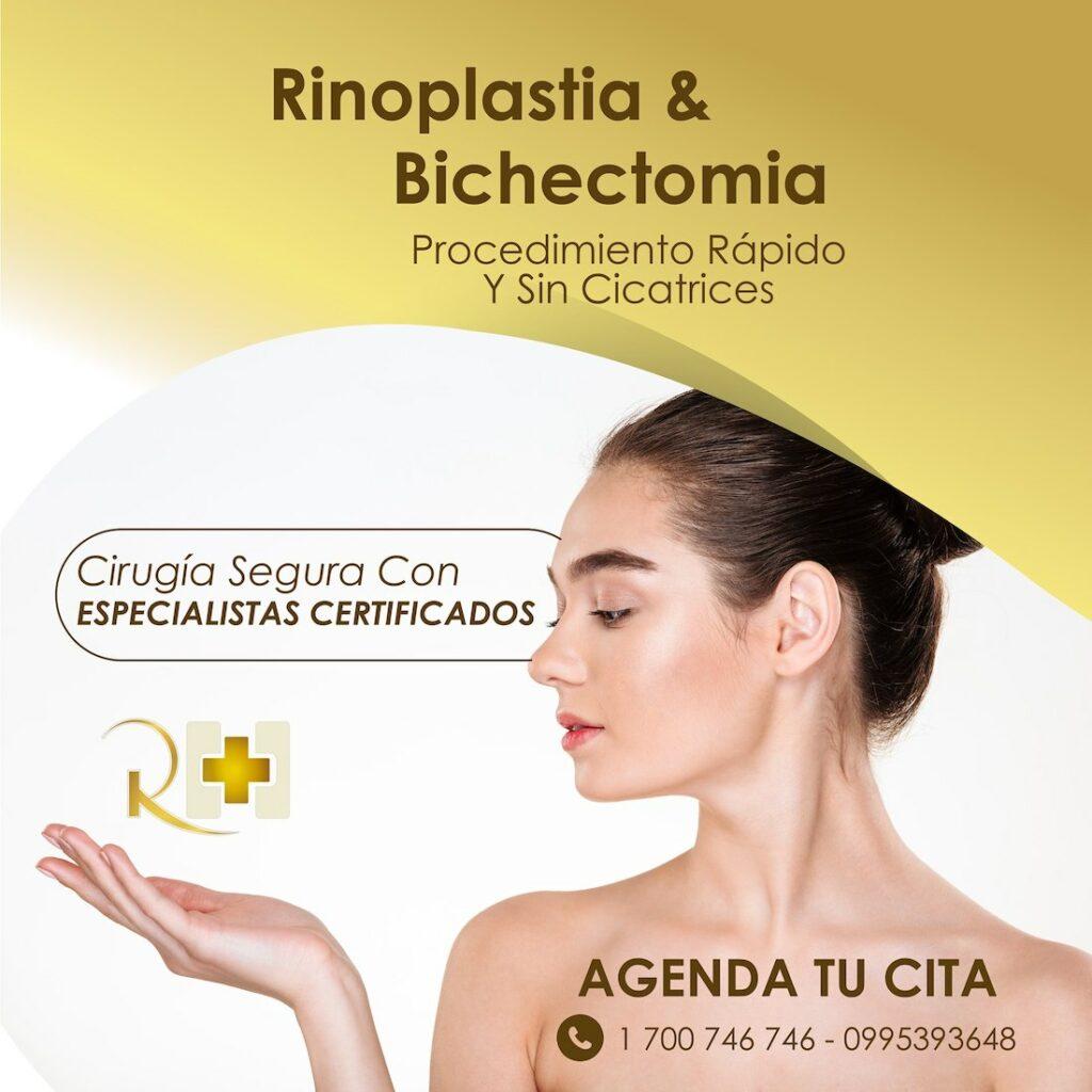 rinoplastia riobamba bichectomia