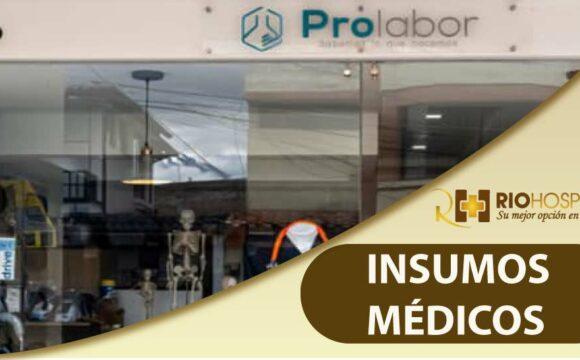Venta de Insumos Médicos Riobamba - Prolabor